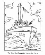 Coloring Guard Army Boat Ship Navy Forces Coast Ships Armed Memorial Boote Bundeswehr Armee Ausmalbilder Printable Sheets Drawing Patrol Activities sketch template