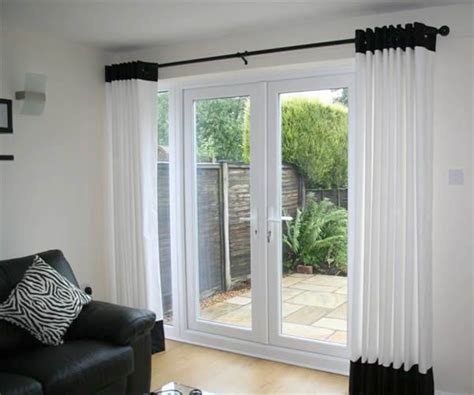 Best 25+ French Door Curtains Ideas On Pinterest Brackets For Heavy Curtains Navy Blackout Shower Curtain Liner With Pockets Rail B And Q Wall Finials Childrens Funky Fabric Australia Dunelm
