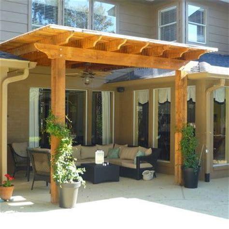 pergola  roof ideas  pinterest