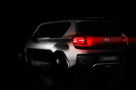 hyundai carlino based compact suv  launch  april