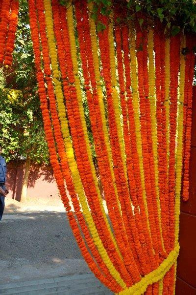 images  marigold decor  wedding