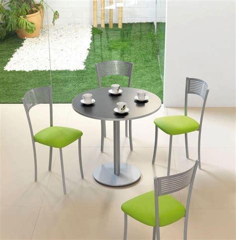 table cuisine inox table draco chaises couleur inox et vert cuisine