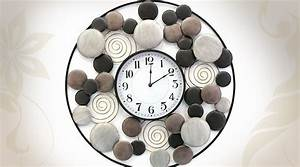 Grande Horloge Murale Originale : pendule originale design best pendule de cuisine originale et horloge avec pendule murale with ~ Teatrodelosmanantiales.com Idées de Décoration