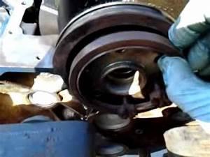 Ford E150 4 2 V6 Rear Main Seal Install