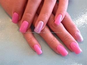 Eye Candy Nails & Training - Acrylic nails pink gel polish ...