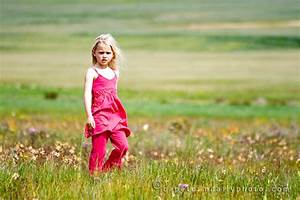 Girl in a field of colour | Cape Town Daily Photo