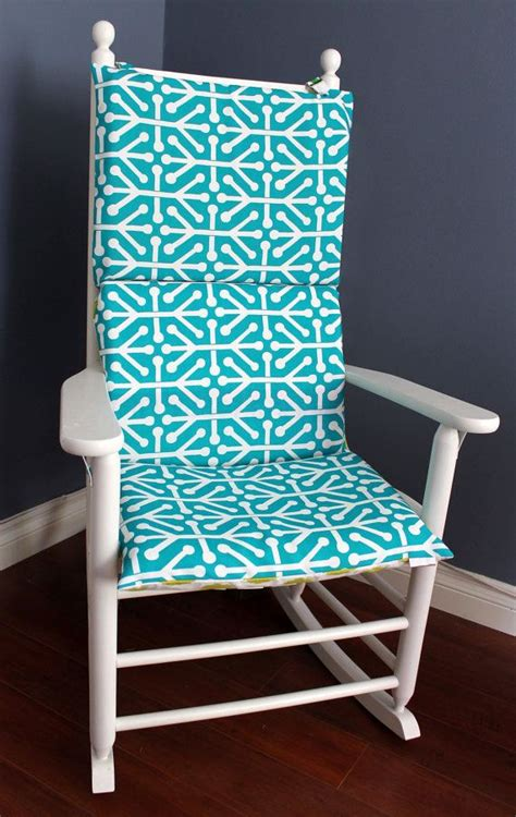 rocking chair cushion turquoise lime rocking chairs