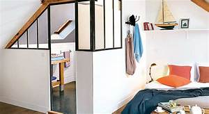 Creer Salle De Bain : cr er une chambre et une salle de bains sous les toits ~ Dailycaller-alerts.com Idées de Décoration