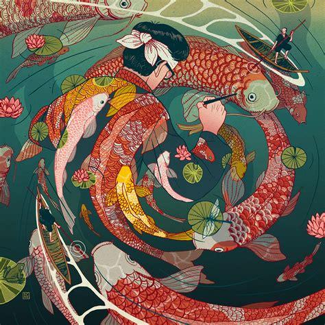Ukiyo-e Tale: A Personal Illustration Project by Nicolás ...