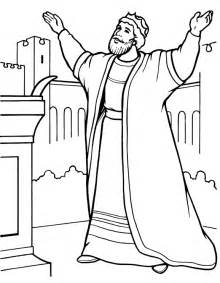 coloring page of david and king saul images