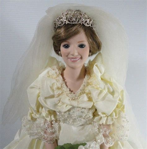 original diana vintage danbury mint princess diana doll and stand