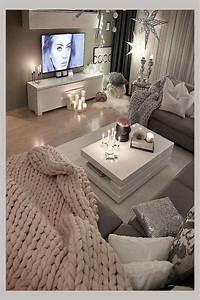 27, Cozy, Gray, U0026, Neutral, Living, Room, Ideas, 2021