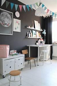Ideen Für Kinderzimmer Wandgestaltung : ideen und tipps f r die einrichtung eines kinderzimmers 2 6 jahre ~ Markanthonyermac.com Haus und Dekorationen