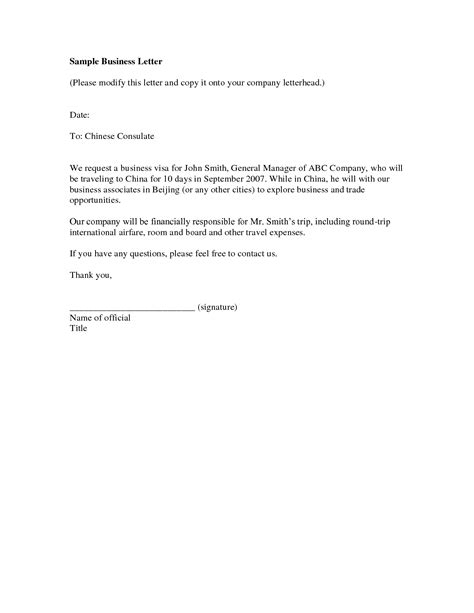 Travel Policy Template For Small Business by Small Business Introduction Letter The Letter Sle
