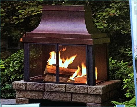 lowes outdoor fireplace outdoor gas fireplace lowes
