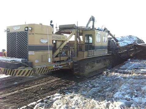 banister pipeline pipeline ditcher