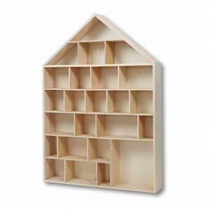 Calendrier De L Avent Maison En Bois : calendrier de l 39 avent maison vitrine en bois ~ Melissatoandfro.com Idées de Décoration