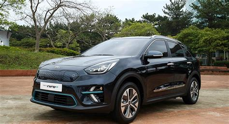 2019 Kia Niro Ev Revealed In South Korea Autoevolution