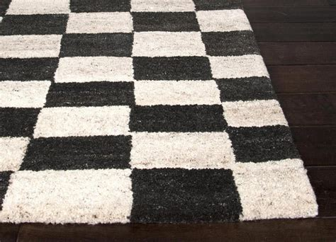 black and white rug black white checkered rug rugs ideas