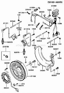Kawasaki Fd750d Parts List And Diagram
