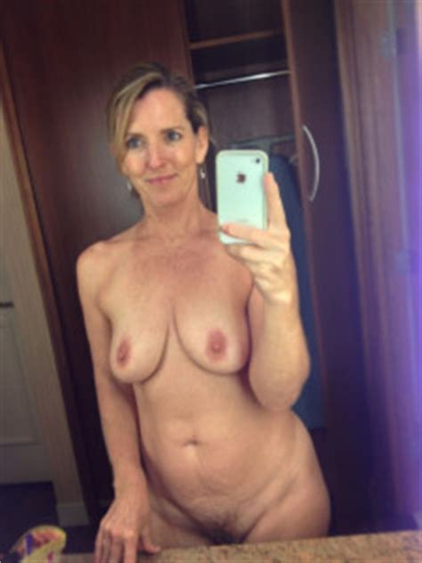 Cougar Mirror Selfie Aged Beauty