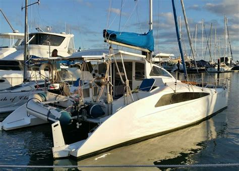 Catamaran Sailing Noosa by Used Crowther 36 Sailing Catamaran For Sale Yachts For