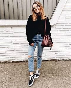 Nuestros 26 Looks Favoritos Con Zapatillas Vans Old Skool | Zapatillas vans Zapatillas y Blog