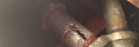 Broken Drain Pipes   Gogo Rooter Plumbing