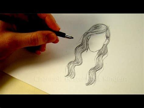 Frisur Zeichnen Mit Bleistift