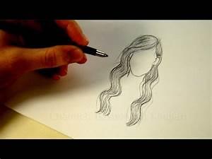 Zeichnen Lernen Mit Bleistift : zeichnen lernen haare frisur zeichnen mit bleistift tutorial 2 ~ Frokenaadalensverden.com Haus und Dekorationen