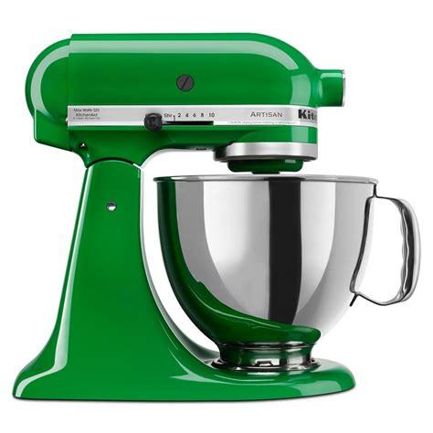 green kitchen aid mixer top kitchen appliances to add to your wish list 3996
