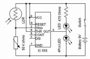 simple automatic street light diagram wiring jope With ldr based circuit