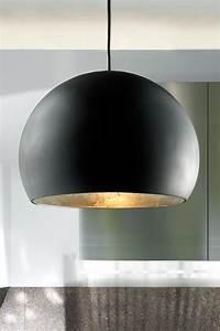 Suspension Noir Et Or : atlas suspension globe noir et dor en c ramique r f 13030345 ~ Teatrodelosmanantiales.com Idées de Décoration