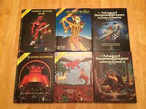 Advance Dungeons And Dragons Books From 1978
