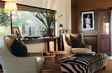 safari decor for living room interiors earth wind style