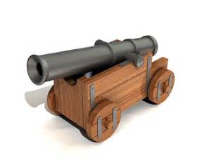Halloween Pirate Cannon Prop