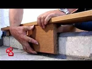 Wpc Fliesen Bauhaus : bauhaus tv verlegen einer holzterrasse youtube ~ Orissabook.com Haus und Dekorationen