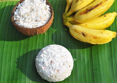 chiratta puttu rice cake steamed  coconut shell recipe