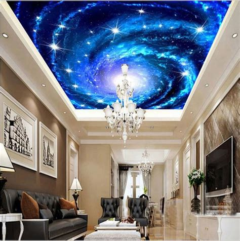3d Galaxy Wallpaper For Ceiling by Custom 3d Galaxy Universe Ceiling Wallpaper Home Or