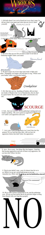 Warrior Memes - warrior cats meme by hallyboo123 on deviantart