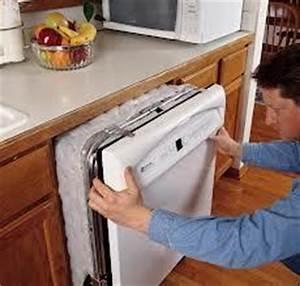 Lave Vaisselle Pose Libre Sous Plan De Travail : fixation installation de lave vaisselle dishwasher fastening ~ Melissatoandfro.com Idées de Décoration