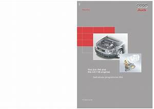 2001 Audi Ssp255 The 2 0 L R4 And The 3 0 L V6 Engines Pdf  2 06 Mb