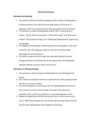 the world of doublespeak worksheet the world of doublespeak essay