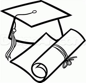 How to Draw a Graduation Cap, Step by Step, Stuff, Pop ...