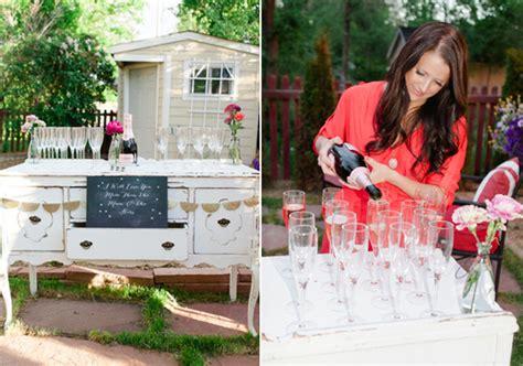 Backyard Summer Engagement Party