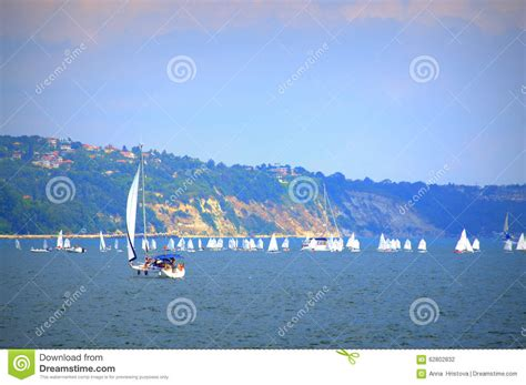 Sailing Boat Competition by Sailing Boats Competition Editorial Photography Image Of