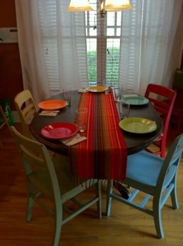 painting kitchen table and chairs different colors painted kitchen table and chairs chelsea 39 s thingys