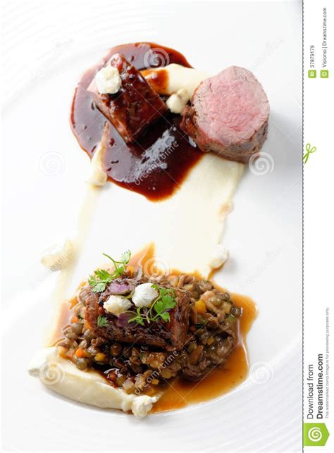 haut cuisine haute cuisine grilled veal fillet steak veal with a