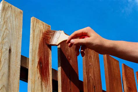 Fence Painting and Staining Cost Guide   Checkatrade Blog