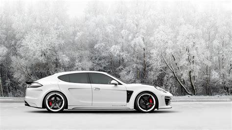 Porsche Panamera, Snow, Car Wallpapers Hd / Desktop And